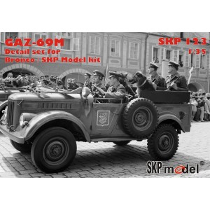 SKP 123 Detail set na Gaz-69M