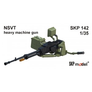 SKP 142 Heavy machine gun - NSVT