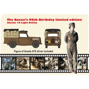 SKP 009 The Queen´s 90th Birthday limited edition