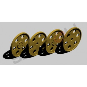SKP 064 Idler wheels for Hetzer - 6D